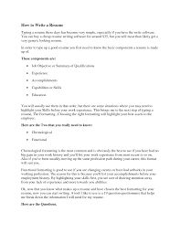 How To Type Up A Resume how do you type up a resumes Enderrealtyparkco 1