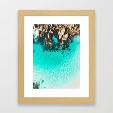 nanarup rocks western australia framed art print