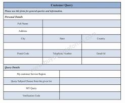 Customer Form Template Customer Query Form Template By Jasmine Everett At Coroflot Com