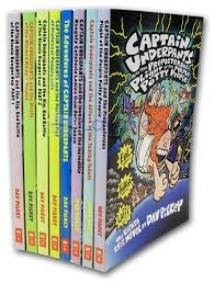 captain underpants collection 8 books rrp 39 92 capt dav pilkey new pb 9780399956836 ebay