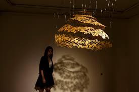 nahoko kojima paper cut artist japanese paper cut art sculpture honey 切り絵