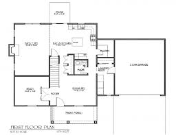 2 story house plans with basement long narrow floor for small homes modern
