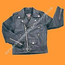details about child kid boy girl black lambskin soft leather biker motorcycle jacket coat