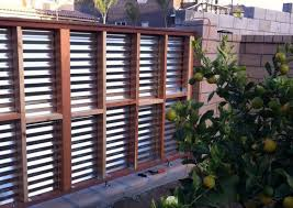 Simple Sheet Metal Fence Corrugated Panel On Decor