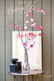 easy diy cherry blossom decor designs by miss mandee