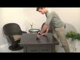az patio heater propane antique bronze fire pit review