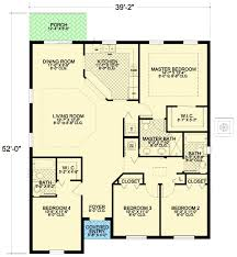 ... Cool Design Small 4 Bedroom House Floor Plans 1 17 Best 1000 Ideas  About Four On