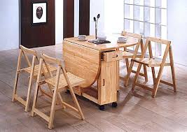fold away table and chairs dining table in ebony finish furniture with regard to folding kitchen table prepare fold away table with chairs inside