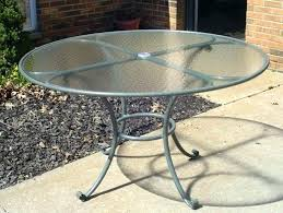 round glass top patio table medium size of round patio table tops round patio table top