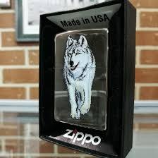 <b>Зажигалка Zippo</b> Wolf (Волк) Black Ice 769 – купить в Уфе, цена 3 ...