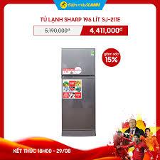 Tủ lạnh Sharp 196 lít SJ-211E 💧GIÁ SỐC... - Điện máy XANH  (dienmayxanh.com)