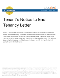 notice to tenant to landlord terminate lease letter resize=800 1035