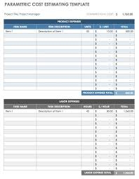 price estimate template ultimate guide to project cost estimating smartsheet
