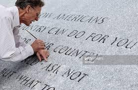John Everett Benson, the original master stone mason who engraved the...  News Photo - Getty Images
