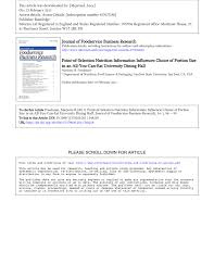 pdf the use of nutritional labels by college