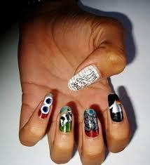 Cool Pink Floyd Inspired Nail Arts. –