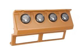 gauge cluster, tan, dash panel gauges wiring; 87 90 jeep wrangler how to hook up aftermarket temp gauge at Dash Gauge Wiring
