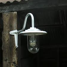 Corner Lighting Corner Galvanised Barn Light