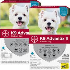 12 Month K9 Advantix Ii Teal For Medium Dogs 11 20 Lbs