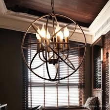 restoration hardware orb chandelier lighting restoration hardware vintage pendant lamp iron orb chandelier rustic iron loft