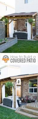covered patio freedom properties: hdblogsquad how to build a covered patio via my daily