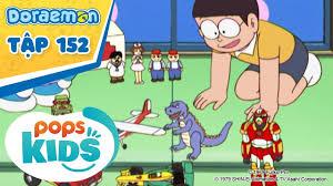Doraemon Tập 152 - Thành Phố Đồ Chơi, Nón Chấp Nhận Yêu Cầu - Hoạt Hình  Tiếng Việt -
