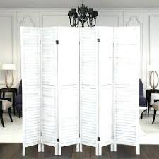 6 panel wood frame wicker room divider privacy screen separator partition white screens outdoor