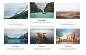 Bootstrap Designs Gallery Freebie 3 Amazing Bootstrap 4 Gallery Templates Tutorialzine