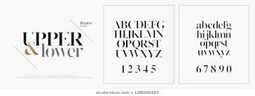 Newspaper Fonts Newspaper Fonts Stock Vectors Images Vector Art