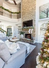 great room with decor