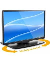 Mount-It! TV Turntable Stand, Rotating Swivel Base 32, 37, New Savings on