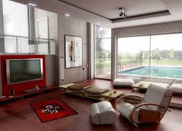 Two Story Living Room Decorating Modern Minimalis Two Story House With Contemporary Home Decorating