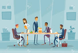 office meeting pictures. Contemporary Meeting Business People Meeting Discussing Office Desk People Working Flat  Illustration Stock Vector  48189083 Inside Pictures I