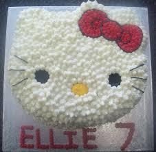 Hello Kitty 2d Shaped Girls Birthday Cake Cakecentralcom