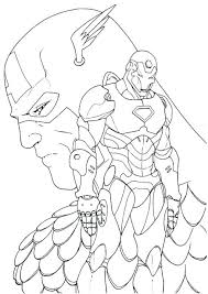 Thor Infinity War Coloring Pages