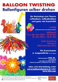 Balloon Twisting Ballonfiguren Selber Drehen Workshop