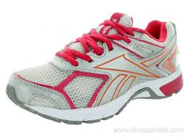 reebok running shoes 2014. australia - reebok women\u0027s quickchase running shoe steel/silver/pink/orange shoes 2014