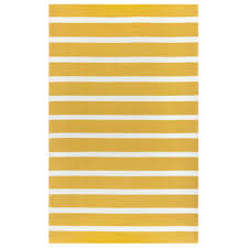 rizzy home azzura hill yellow striped 9 ft x 12 ft indoor outdoor