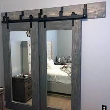 barn mirror closet door ideas