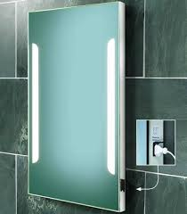 Demister Bathroom Mirrors Some Excellent Led Bathroom Mirrors With Shaver Socket Examples