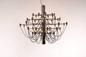 50 bulb chandelier by gino sarfatti for flos italy circa 1970 for 1