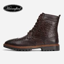 full grain leather men winter shoes size 38 47handmade warm men winter boots 3hc598jm boot ankle boots from jerry10 44 95 dhgate com