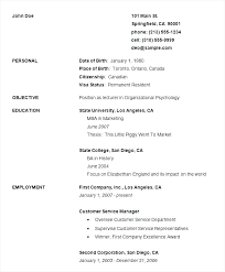 Basic Resume Template Word Free Basic Resumes Free Resume Templates ...