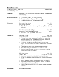 Objective Examples For A Resume Librarian Resume Objective Examples RESUME 87