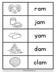 Click on the category or resource type below to find printable phonics worksheets and teaching activities. Am Word Family Worksheets Kindergarten Mom
