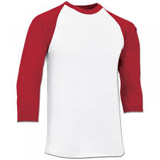 Champro Softball Pants Size Chart Champro Cotton 3 4 Sleeve Adult Baseball Shirt