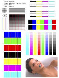 Printer Test Pattern Custom Ideas