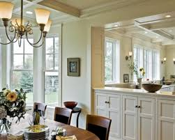 Dining Room Buffet Decorating Ideas With Two Simple Glass Framed - Room dining