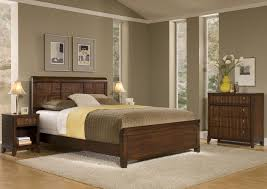 Neutral Bedroom Colors Varnished Teak Wood Platform Bed And Neutral Bedroom Scheme Color