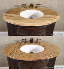 Decorative Bathroom Sinks Decorative Vanity Cabinet Crestwood 36 Inch Marble Top